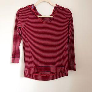 Splendid strip top pullover